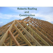 Logo de ROBERTS ROOFING AND CONSTRUCTION