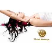 Logo de Planet Massage