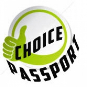 Logo de Choice Passport and Visa