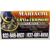 Logo de Mariachi Oro de Houston