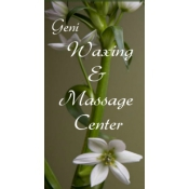 Logo de Geni Waxing  Massage Center LLC
