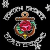 Logo de Iron Rose Tattoos