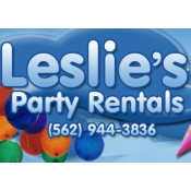 Logo de Leslies Party Rentals