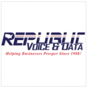 Logo de Republic Voice & Data